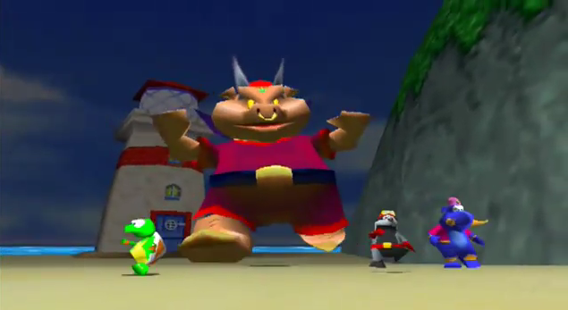 Wizpig, bad boss from Diddy Kong Racing