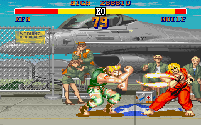 Guile's Stage, Street Fighter II (1991)